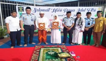 100 Warga Binaan Cabang Rutan Muntok Dapat Remisi Idul Fitri, Dua Langsung Bebas