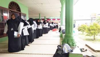 11 Peserta Lulus Seleksi Awal CPNS di SMA 1 Muntok