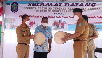 113 Siswa ikuti perlombaan FLS2N di Kabupaten Bangka