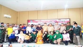 13 Parpol Tanda Tangani Deklarasi Damai Di Gedung Catur Prasetya Polres Bangka Barat