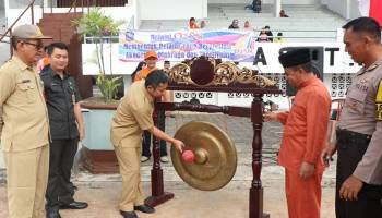 176 Atlet Berlaga di O2SN SD-SMP Tingkat Kabupaten Bangka 2019