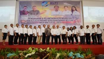 18 Pengurus Wilayah ALFI/ILFA Babel Resmi Dilantik