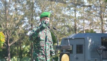 209 Prajurit Ikuti Jam Komandan Korem 045/Garuda Jaya