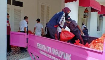 21 Ribu KK di Pangkalpinang Dapat Bantuan Sembako