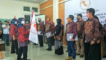 22 Anggota TKPSDA WS Bangka Dilantik, Siap Bekerja Amankan Sumber Daya Air Bangka