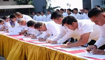 278 Pegawai LPSK Teken Fakta Integritas, Hasto: Wujud Nyata Reformasi Birokrasi
