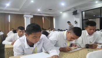 305 Peserta Calon Bintara dan Tamtama Ikut Tes Kesehatan Jiwa