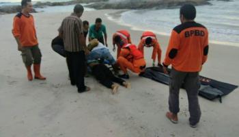 Tiga Orang Tenggelam di Pantai Tikus, 1 Selamat, 1 Meninggal dan 1 belum Ditemukan