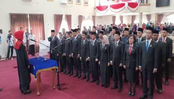 30 Anggota DPRD Kota Pangkalpinang Resmi Dilantik