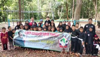 30 Murid Perguruan Pencak Silat Pulau Kelapa Ikut Ujian Kenaikan Tingkat