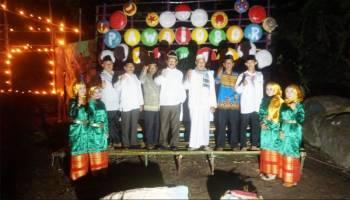 3.000 Obor Terangi Dusun Daya Baru Desa Air Belo Muntok