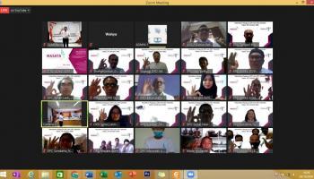 43 Masata se Indonesia Dilantik, Panca Kirim Pesan Jika Bukan Kita Siapa Lagi