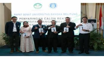 5 Kandidat Rektor UBB Telah Sampaikan Visi Misi