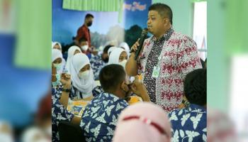 50 Siswa dan Guru SMU Diberikan Wawasan Kemasan dalam Pengebangan Kewirausahaan