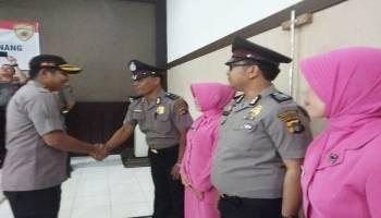 53 Anggota Polres Pangkal Pinang Naik Pangkat