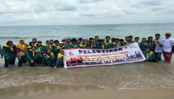 54 Siswa SMAN I Toboali Dilantik Jadi Anggota PMR