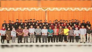 59 Mahasiswa KKN Diminta Kenali Adat Istiadat Masyarakat Desa