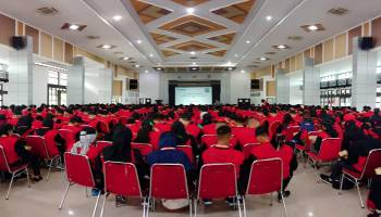 600 Peserta Bintal Juang Remaja Bahari TNI AL Kunjungi PT Timah