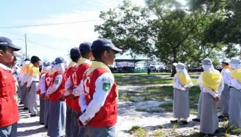700 Peserta Ikuti Temu Gembira PMR se-Kabupten Bangka