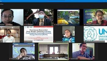 73 Persen Masyarakat Setuju Pendirian Pembangkit Listrik Tenaga Thorium di Babel