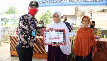 7.484 KK di Kabupaten Bangka Terima Dana BLT