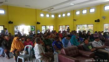 75 Warga Kecamatan Lubuk Terima Bantuan Stimulan Perumahan Swadaya