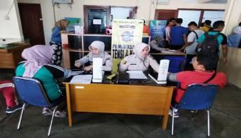 83 Calon Anggota Bawaslu Kabupaten/Kota Tes Kesehatan