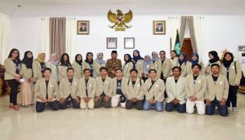 90 Mahasiswa UGM Melaksanakan KKN di Kabupaten Bangka