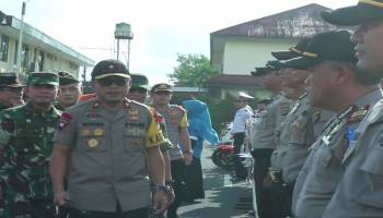 906 Personel Dikerahkan Untuk Pengamanan Lebaran 2019