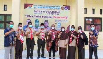 96 Anggota Pramuka Al Bina Menggelar Perkemahan MOTA
