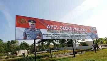 99 Personel Siap Amankan Arus Mudik di Bangka Barat