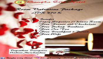 Ada Spesial Valentine di Bangka City Hotel