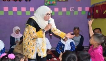 Agar Anak-Anak TK dan PAUD Mau Diajak Dialog, Melati Erzaldi Siapkan Strategi Ini