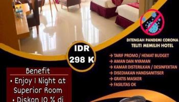 Ajak Tamu Nyaman Menginap, Bangka City Hotel Hadirkan Program MaskeRoom