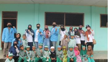 Ajarkan Pendidikan Agama, Tim KKN UBB Ciptakan Generasi Penerus Berakhlak