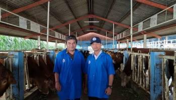 Akhiri Kunjungan di Bogor, Syahbudin Datangi Balai Embrio Ternak di Cipelang