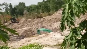 Aktivitas Tambang Diduga Ilegal Masih Menggeliat Di Desa Tepus.Warga Sebut Ada 'Pemain Besar'