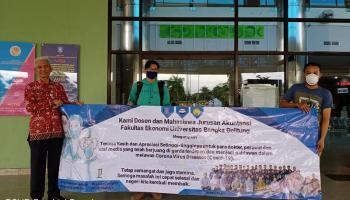 Akuntansi UBB Wujudkan Solidaritas kepada Tenaga Medis Covid-19