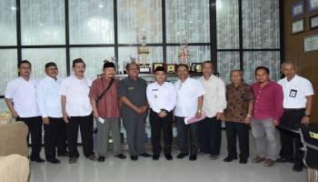 Alumni Mahasiswa Bangka Yogyakarta Silahturahmi Ke Bupati Bangka
