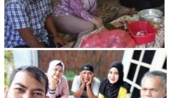 Alumni SMA Muhammadiyah Bagi Sembako Sebagai Ajang Silaturrahim