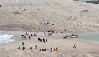 Alur Muara Air Kantung Dangkal, Pemkab Bangka akan Panggil PT. Pulomas Sentosa