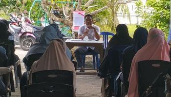 Anggota DPRD Bangka Ini Gelar Reses di Rumah Pribadi