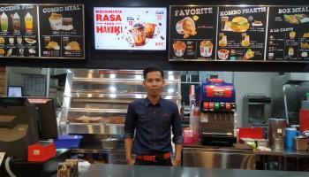 Antisipasi Covid-19, KFC Sungailiat Imbau Pelanggan untuk Gunakan Fasilitas Pesan Antar