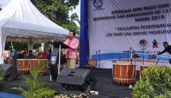 Apresiasi GTK dan PAUD se-Indonesia Bukti Keseriusan Pemerintah Bentuk SDM Berkualitas Sejak Dini