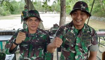 Asah Ketrampilan Prajurit, Yonif 141/AYJP Latihan Menembak