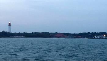 Asap Kiriman Mulai Mengganggu Aktivitas di Perairan Bangka Barat, Jarak Pandang Hanya 200 Meter
