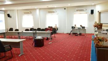 Asisten Administrasi Umum Paparkan Penanganan Covid-19 Di Pangkalpinang Dalam Rapat Kunjungan Mendagri Ke Bangka Belitung