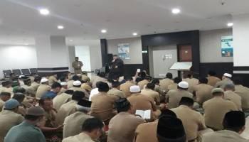 ASN Babel Gelar Doa dan Yasinan Bersama untuk Para Korban Pesawat Lion Air JT 610