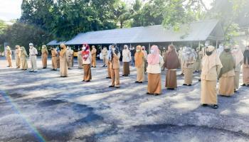 ASN dan Tenaga Kontrak di Setwan DPRD Bangka Diimbau Agar Disiplin