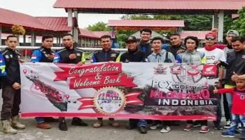 ASP Muntok Sambut Kedatangan PCX Goes to 0 Kilometer